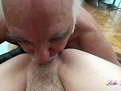 رجل عجوز فيديوهات جنس مجانية / TUBEV.SEX ar